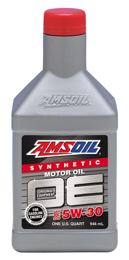 Amsoil oe synthetic 5w 30 engine oil for Synthetic vs non synthetic motor oil